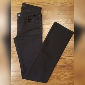 J Brand Black Shadow The Straight Leg Jeans 27